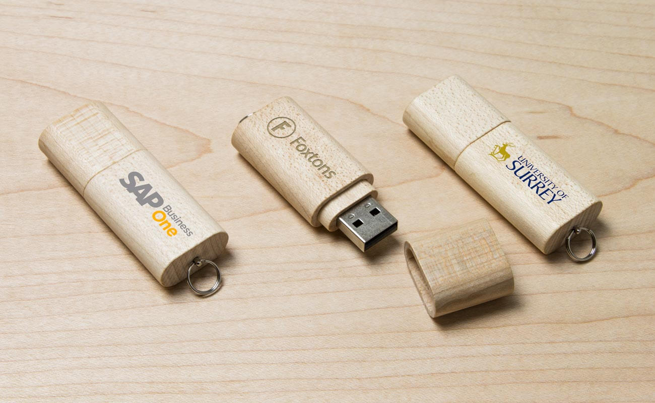Nature - USB Minne Med Tryck
